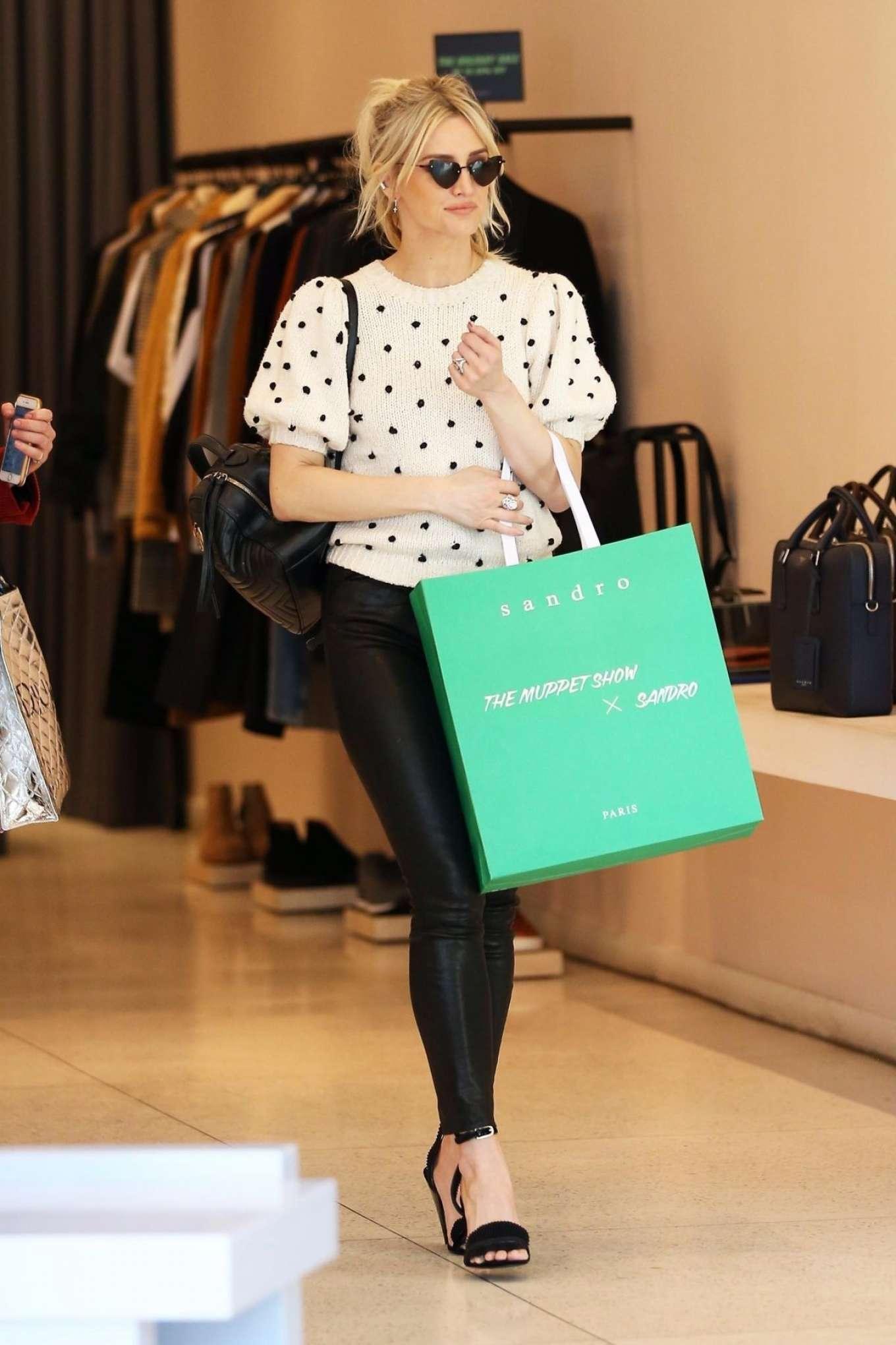 Ashlee Simpson 2018 : Ashlee Simpson: Shopping in Beverly Hills -07