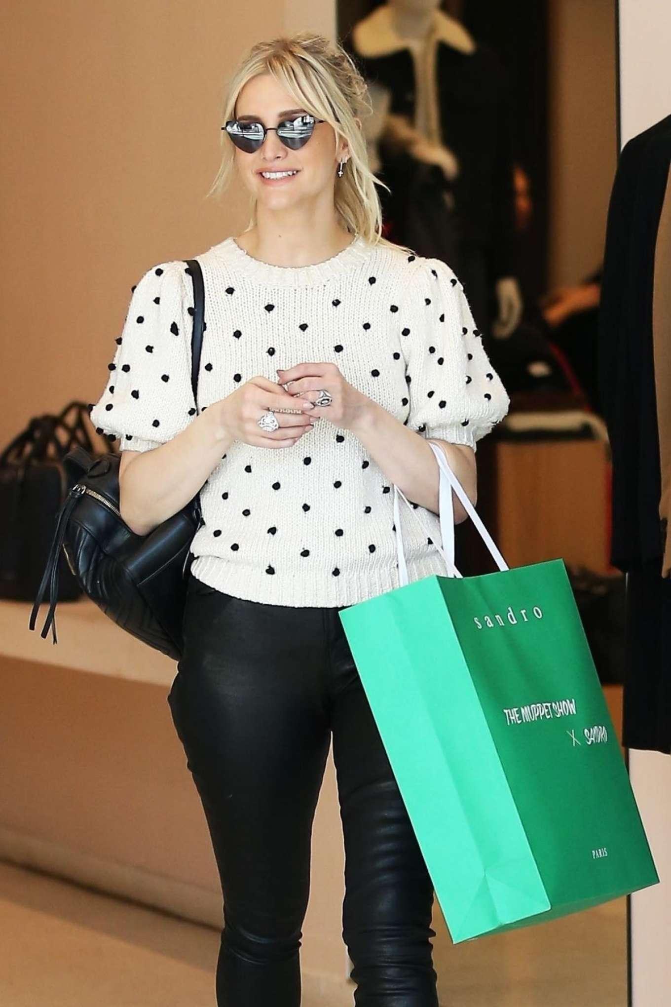 Ashlee Simpson 2018 : Ashlee Simpson: Shopping in Beverly Hills -09