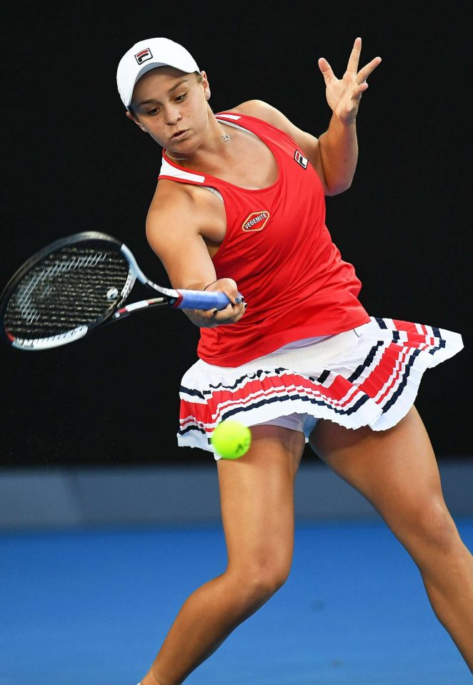 Ashleigh Barty - 2018 Australian Open in Melbourne - Day 4