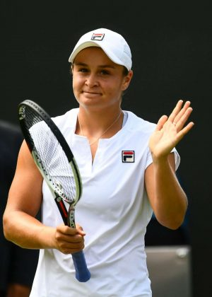 Ashleigh Barty - 2018 Wimbledon Tennis Championships in London Day 4