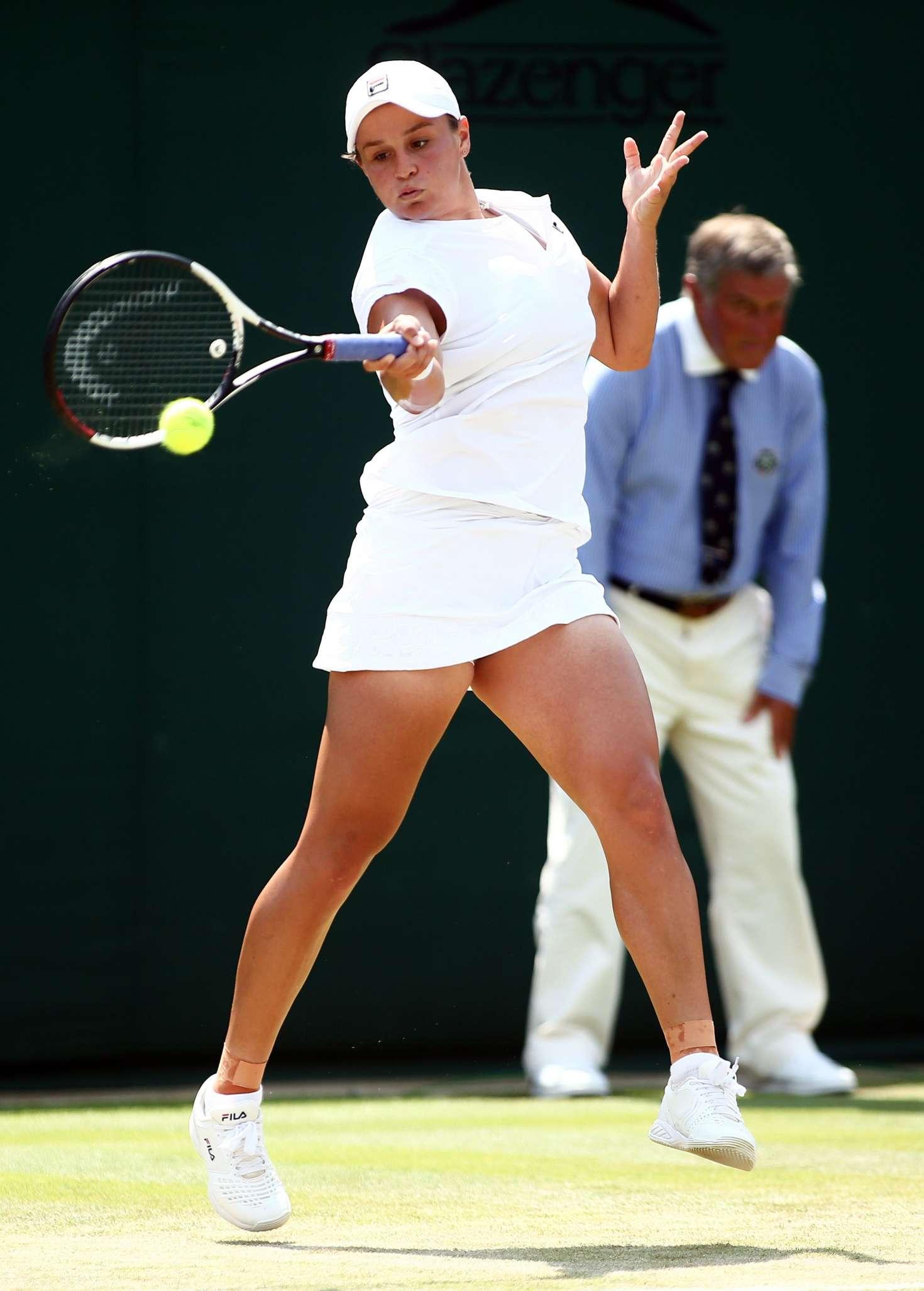 Ashleigh Barty - 2018 Wimbledon Tennis Championships in London Day 6