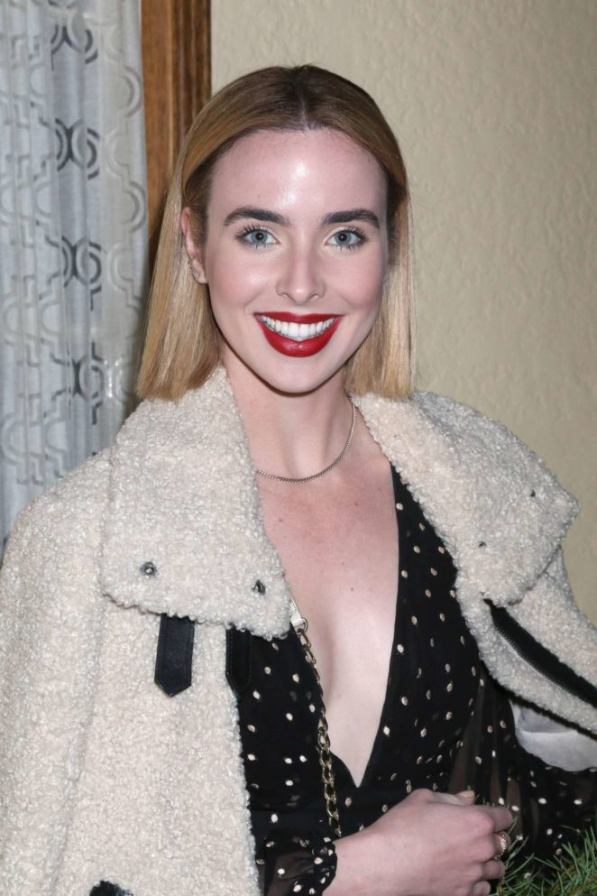 Ashleigh Brewer - Heather Tom's Christmas Party in Glendale