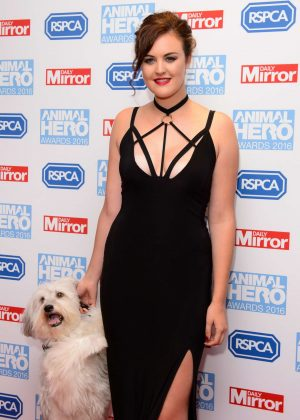 Ashleigh Butler - 2016 Daily Mirror and RSPCA Animal Hero Awards in London