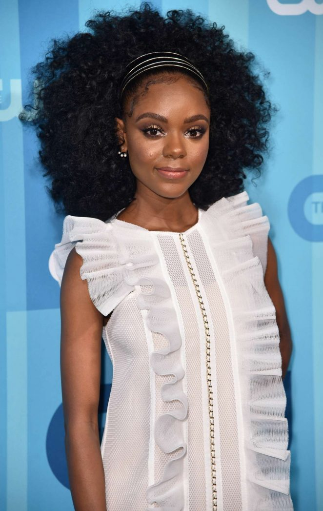 Ashleigh Murray - 2017 CW Upfront Presentation in New York