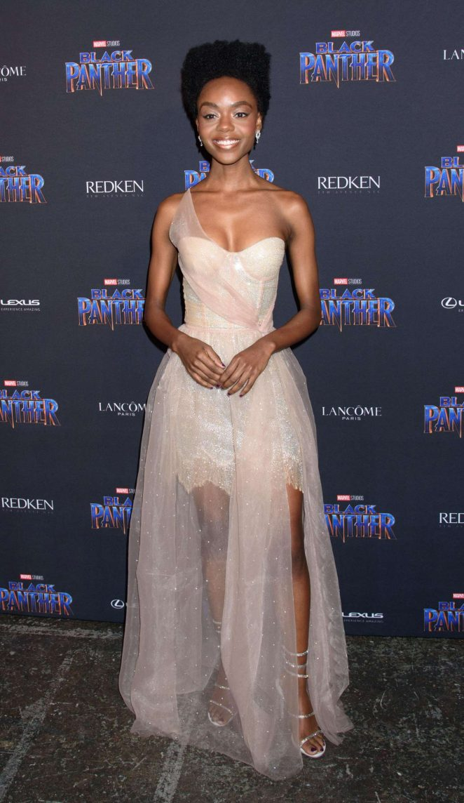 Ashleigh Murray Black Panther Welcome To Wakanda Nyfw Showcase 07