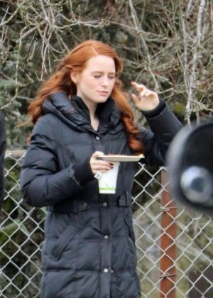 Ashleigh Murray Madelaine Petsch Madchen Amick and Vanessa Morgan - 'Riverdale' season 2 set in Vancouver