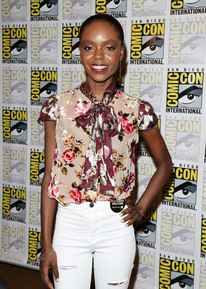 Ashleigh Murray - 'Riverdale' Photo Line at 2018 Comic-Con in San Diego