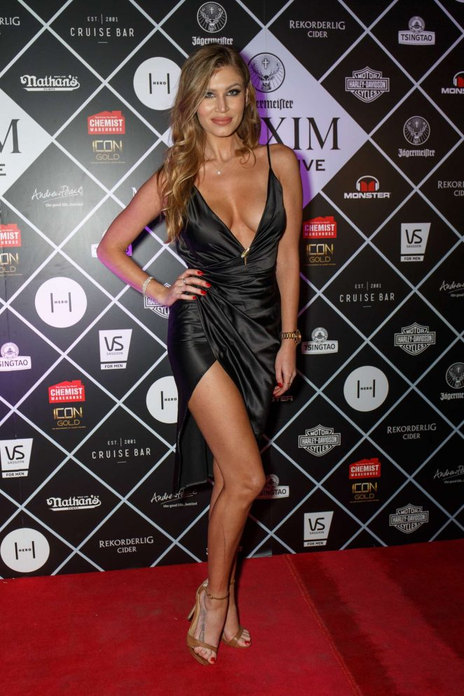 Ashley Agostino - Maxim Magazine Fifth Birthday Party in Sydney