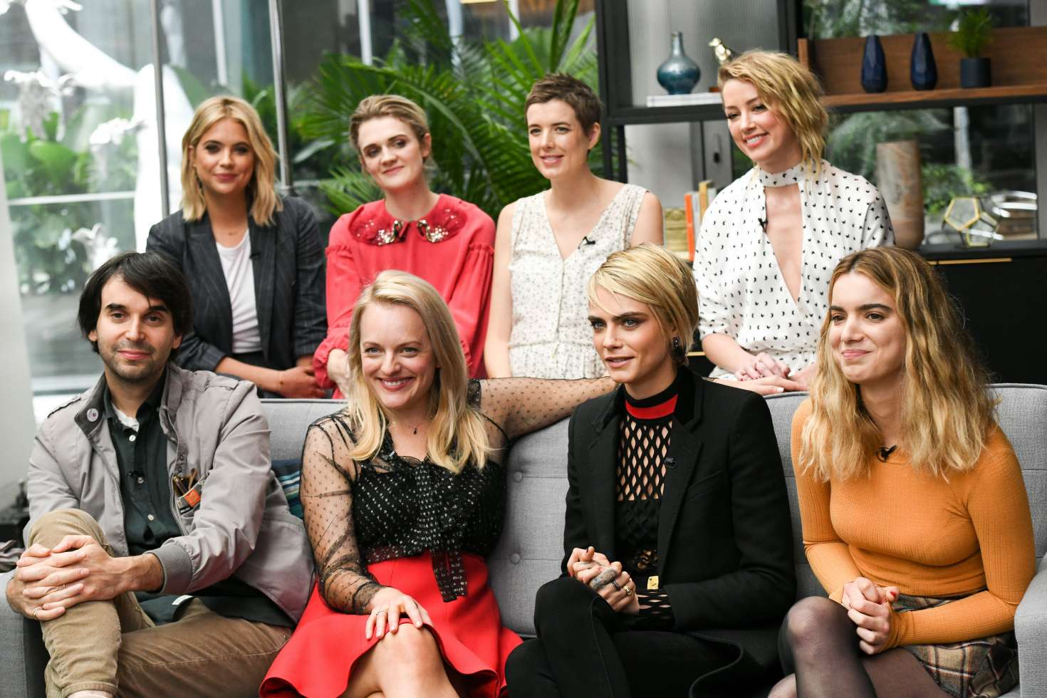 Ashley, Amber, Cara and Elisabeth - Variety Studio Presented by AT&T - 2018 TIFF in Toronto