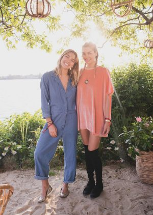 Ashley and Jessica Hart - Bellissima Bambini Launch Montauk in New York