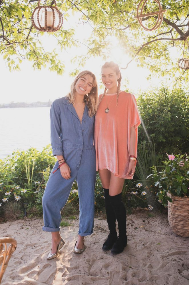 Ashley and Jessica Hart – Bellissima Bambini Launch Montauk in New York
