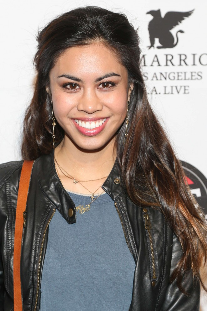 Ashley Argota - KIIS FM and Alt 98.7 Grammy Pre-party and Gifting Suite in LA