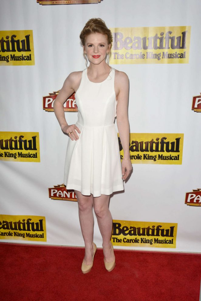 Ashley Bell - 'Beautiful - The Carole King Musical' Opening Night in LA