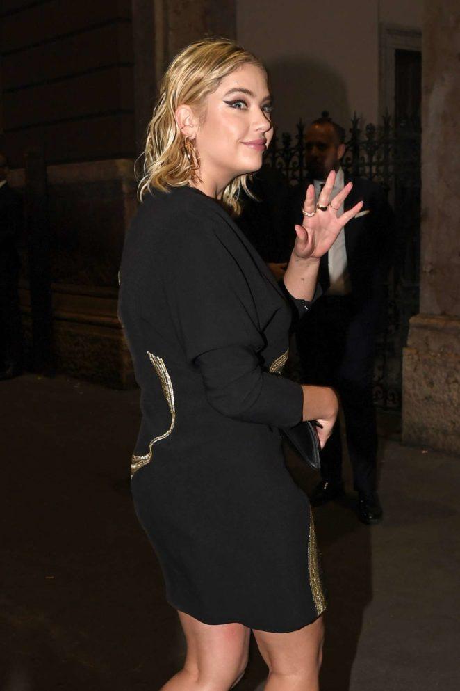 Ashley Benson - 2017 amFAR gala in Milan
