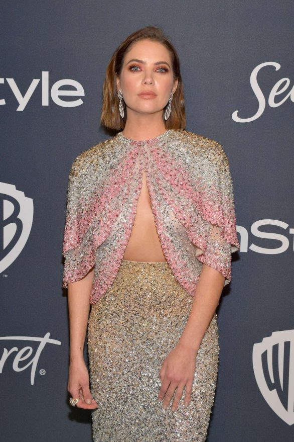 Ashley Benson - 2020 InStyle and Warner Bros Golden Globes Party in Beverly Hills