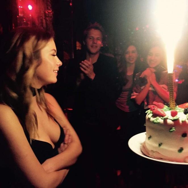 Ashley Benson - 26th Birthday at Blind Dragon in West Hollywood