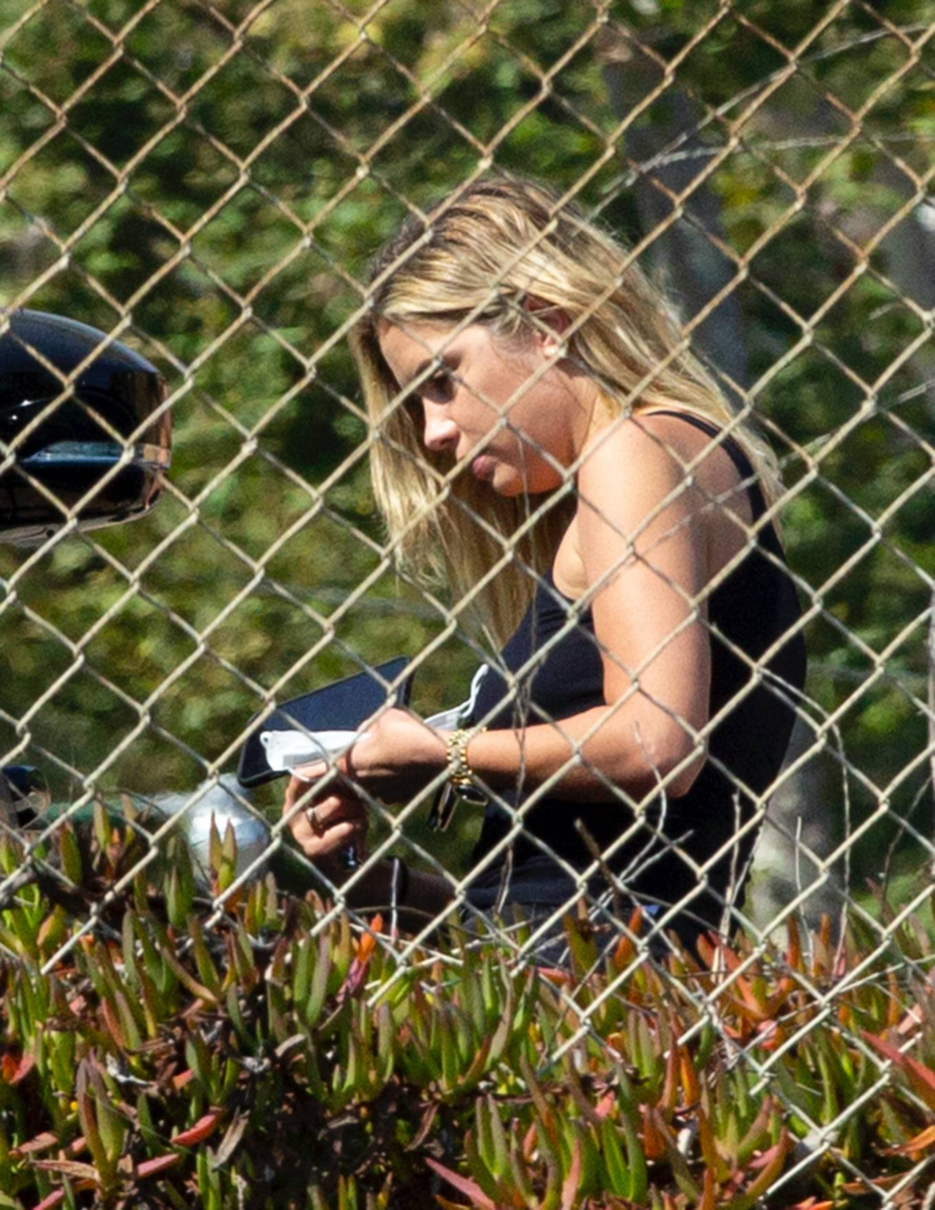 Ashley Benson 2020 : Ashley Benson and boyfriend G-Eazy as she arrives at his video shoot in Malibu-02