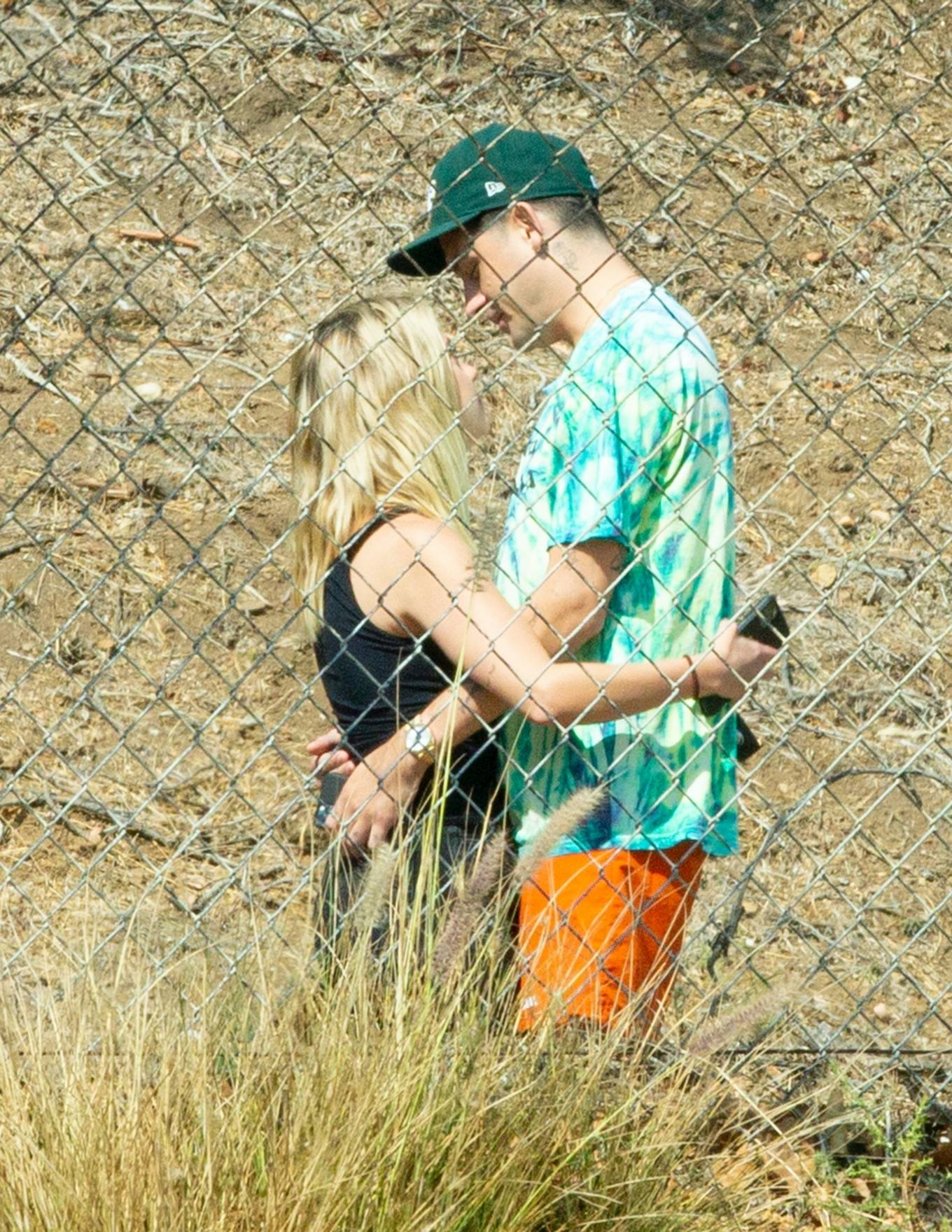 Ashley Benson 2020 : Ashley Benson and boyfriend G-Eazy as she arrives at his video shoot in Malibu-04