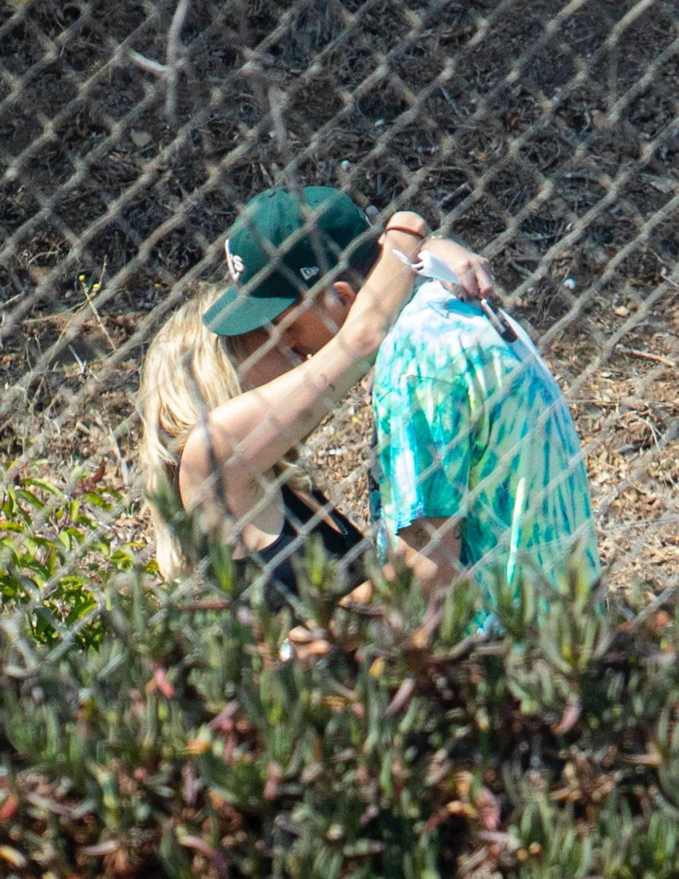 Ashley Benson 2020 : Ashley Benson and boyfriend G-Eazy as she arrives at his video shoot in Malibu-12