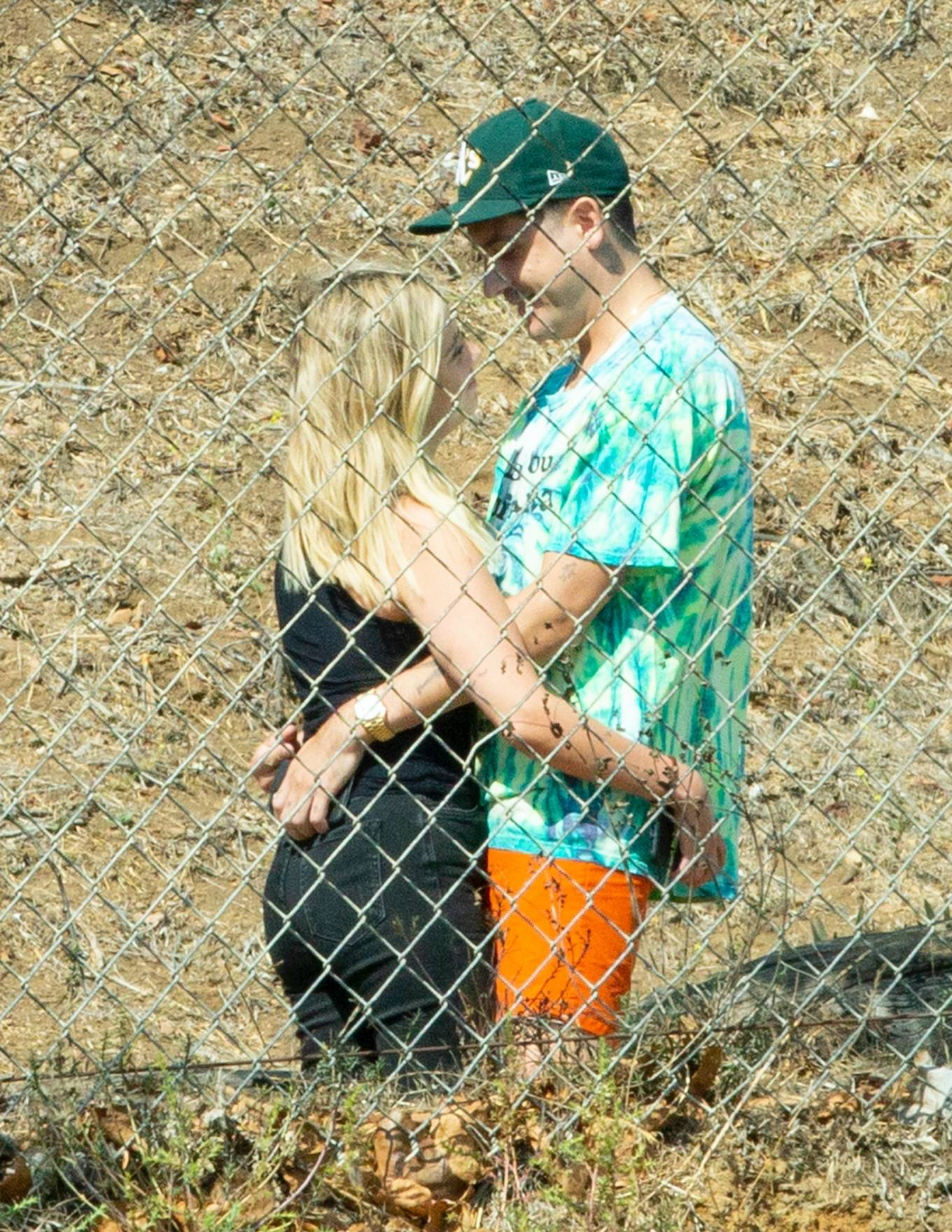 Ashley Benson 2020 : Ashley Benson and boyfriend G-Eazy as she arrives at his video shoot in Malibu-13