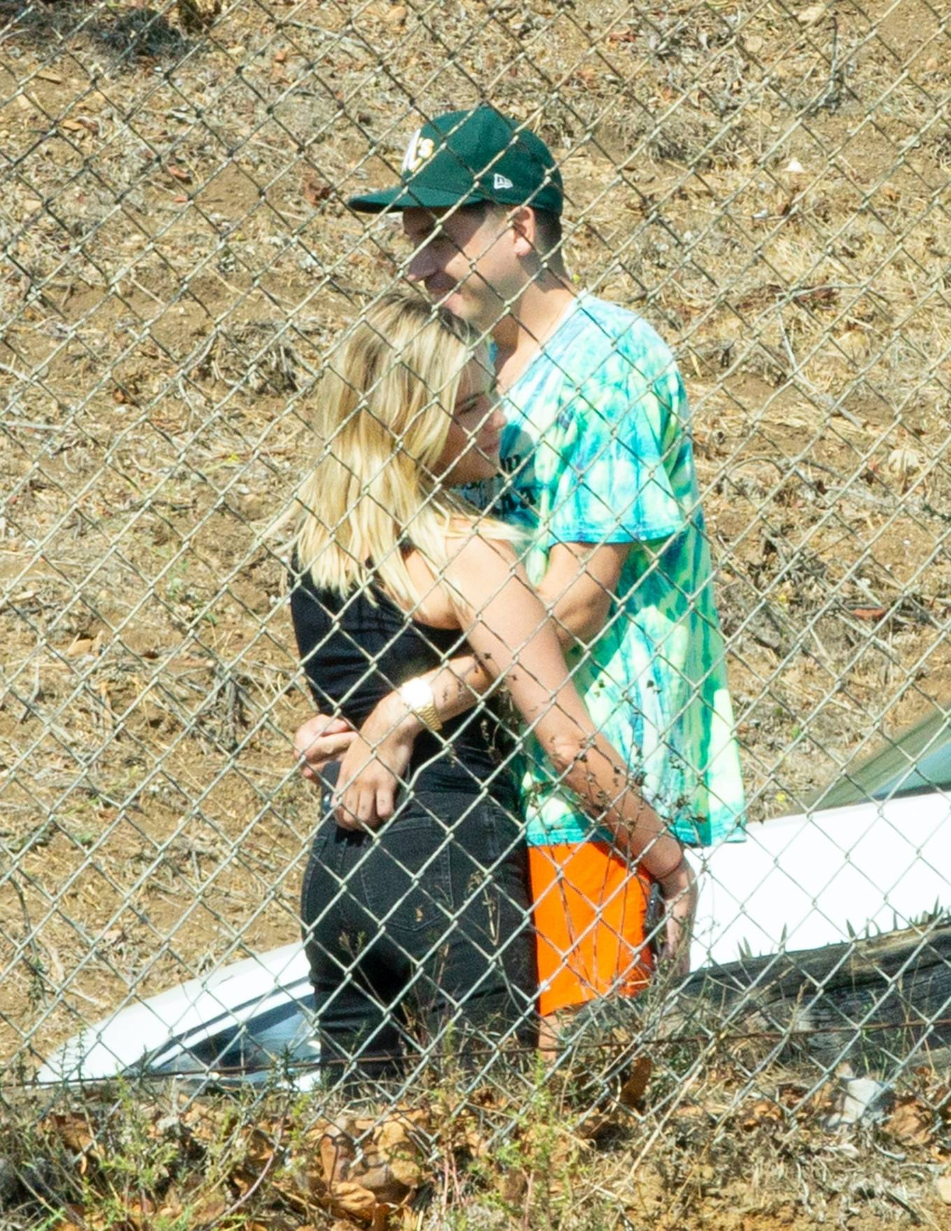 Ashley Benson 2020 : Ashley Benson and boyfriend G-Eazy as she arrives at his video shoot in Malibu-15