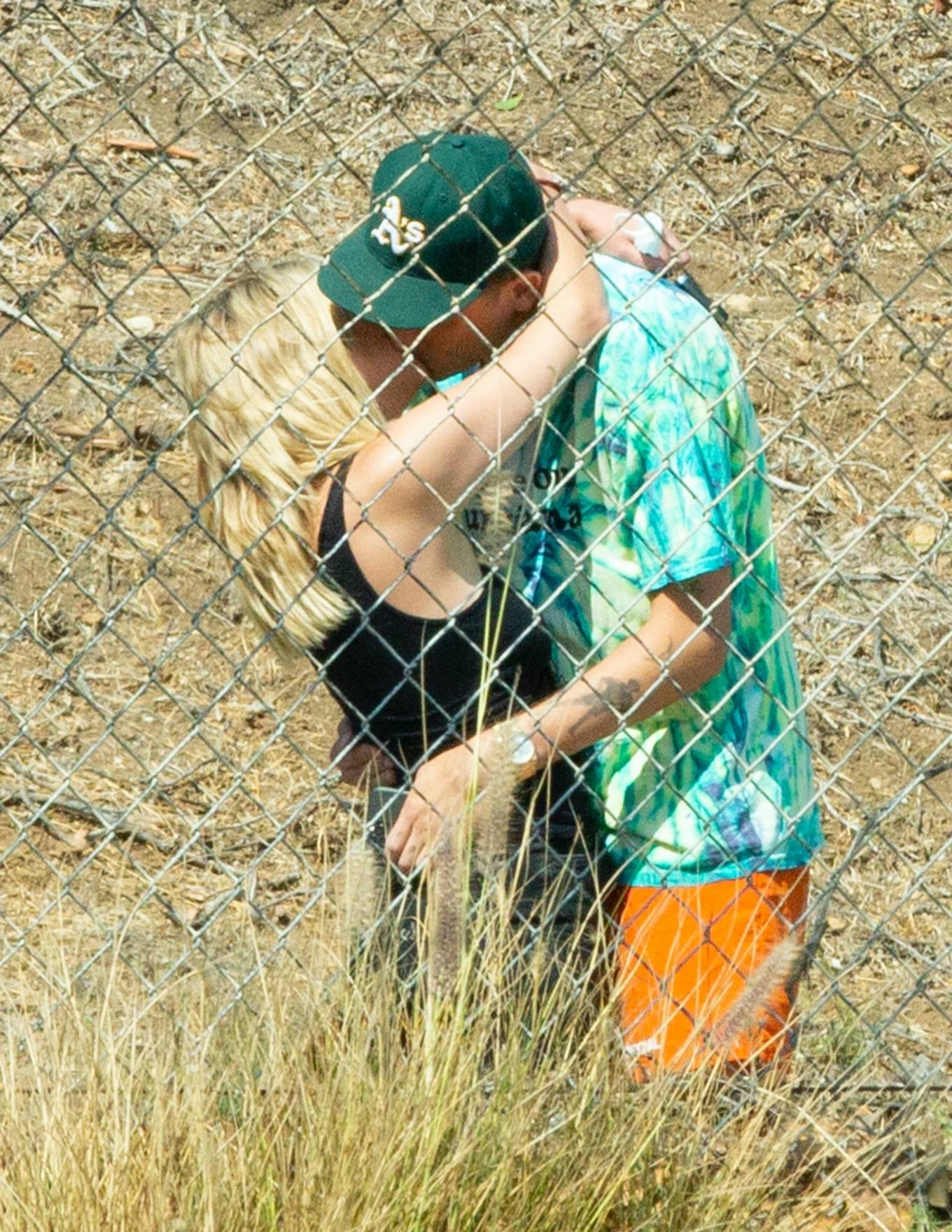 Ashley Benson 2020 : Ashley Benson and boyfriend G-Eazy as she arrives at his video shoot in Malibu-16