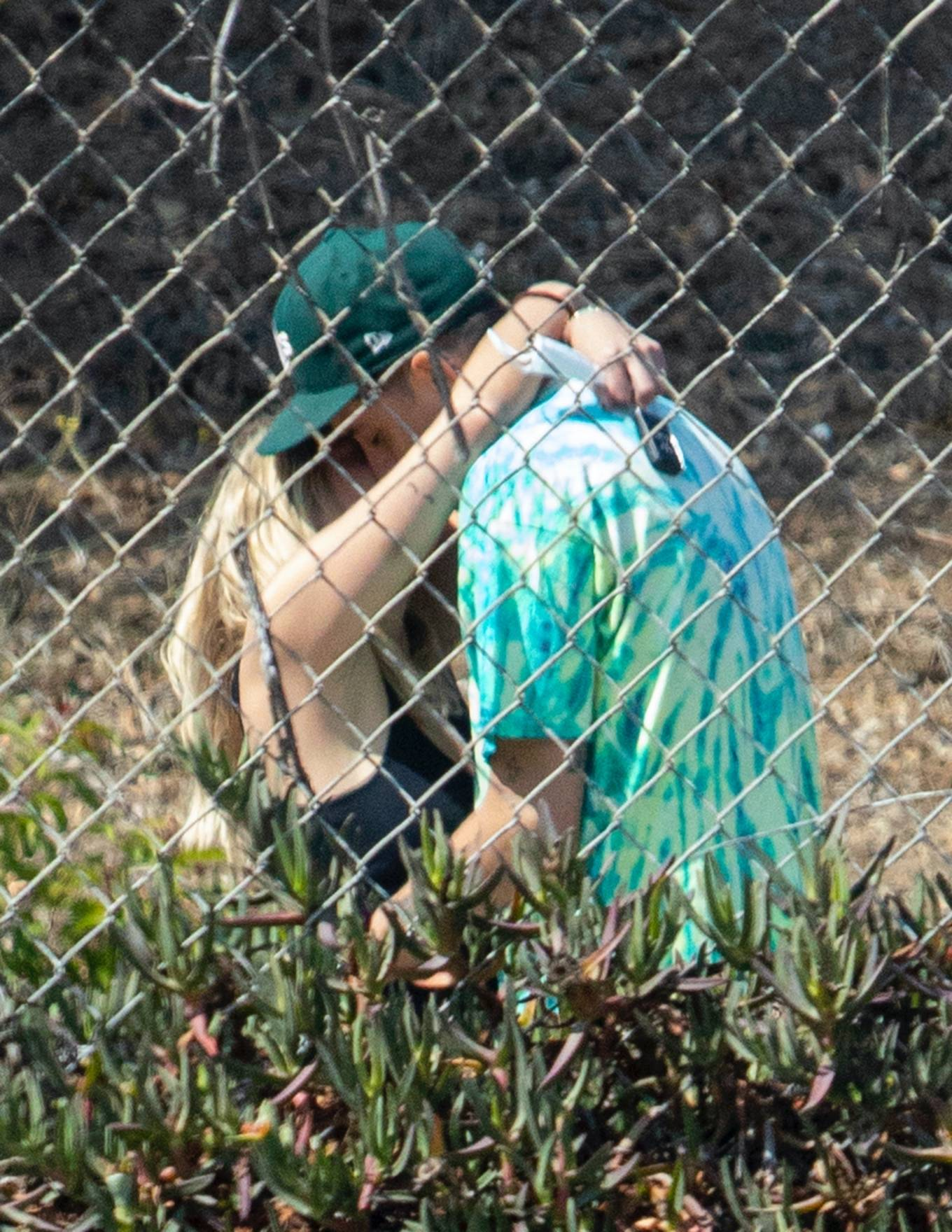 Ashley Benson 2020 : Ashley Benson and boyfriend G-Eazy as she arrives at his video shoot in Malibu-17
