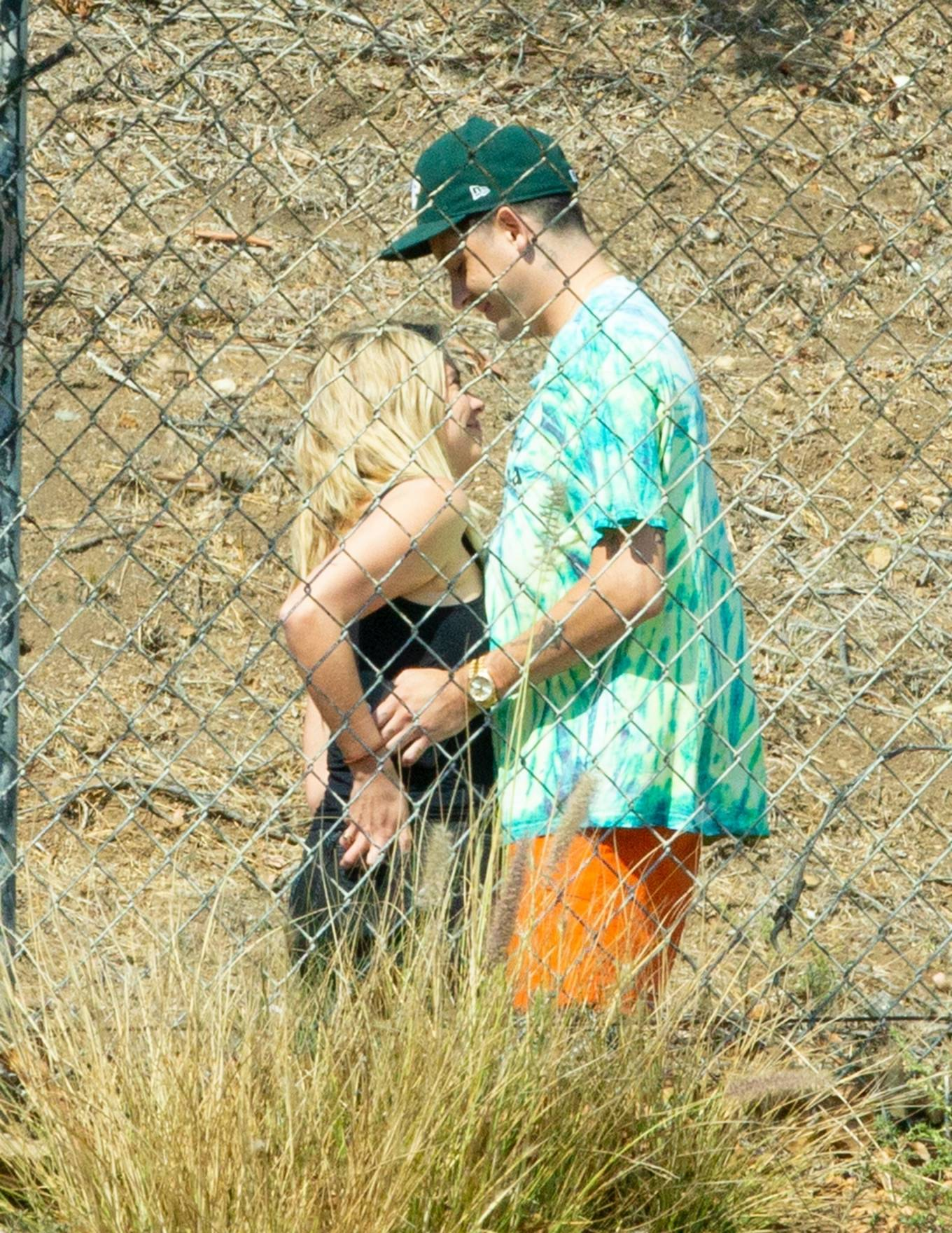 Ashley Benson 2020 : Ashley Benson and boyfriend G-Eazy as she arrives at his video shoot in Malibu-18