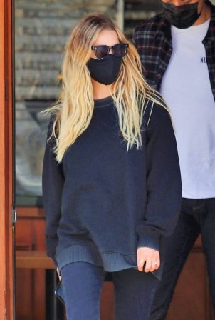 Ashley Benson and boyfriend G-Eazy out for lunch in Los Angeles