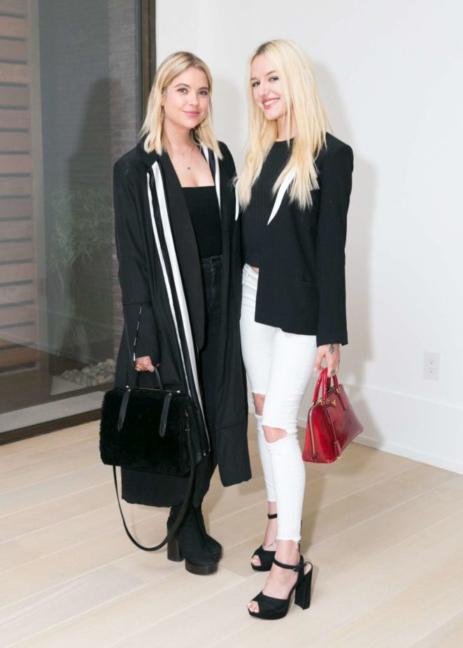 Ashley Benson and Bria Vinaite - La Ligne x Cuyana collaboration celebration in New York