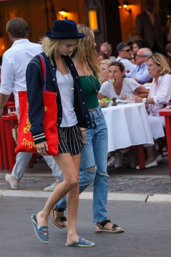 Ashley Benson and Cara Delevigne – Out in Saint Tropez-01