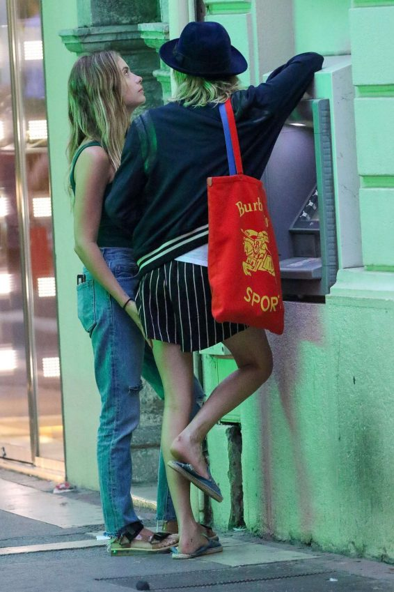 Ashley Benson and Cara Delevigne – Out in Saint Tropez-09
