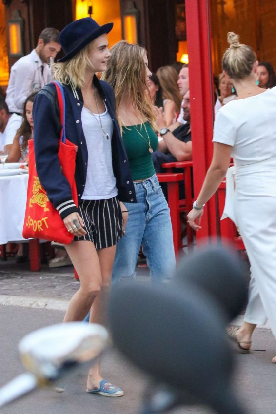 Ashley Benson and Cara Delevigne – Out in Saint Tropez-20