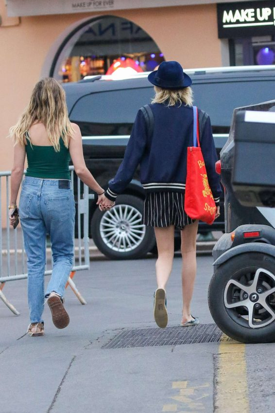 Ashley Benson and Cara Delevigne – Out in Saint Tropez-34