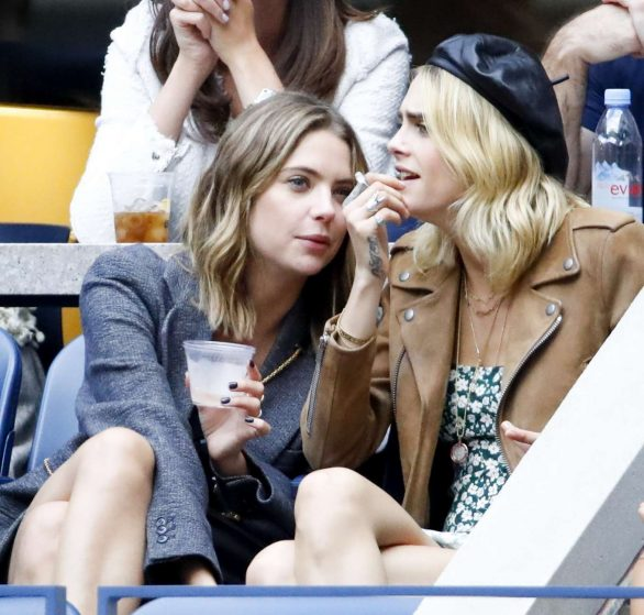 Ashley Benson and Cara Delevingne - 2019 US Open Women's Tennis Final in NY