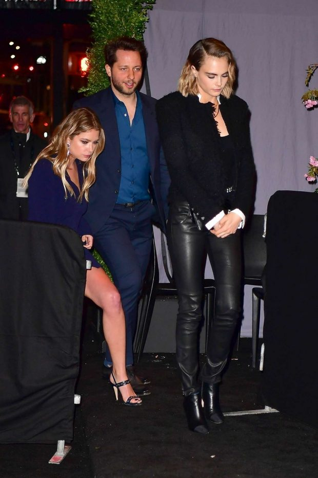 Ashley Benson and Cara Delevingne: Attended the event in NYC -01