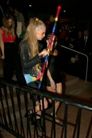 Ashley Benson and Cara Delevingne - Gucci After Party at Met Gala in New York