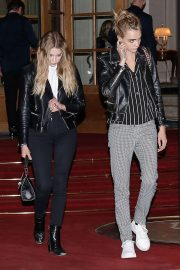 Ashley Benson and Cara Delevingne - Leaving Ritz Hotel in Paris