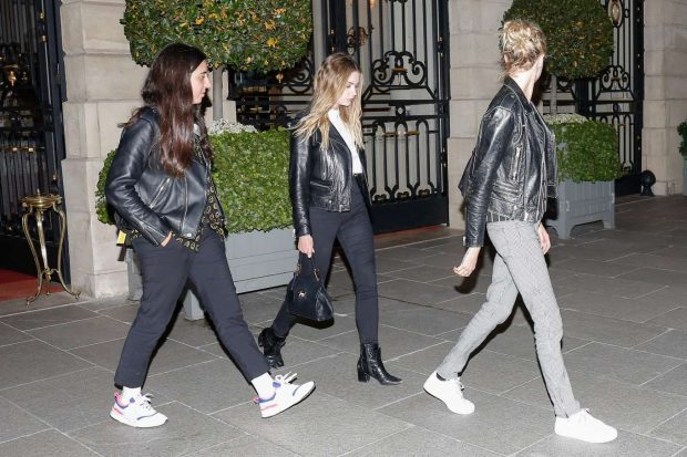 Ashley Benson and Cara Delevingne: Leaving Ritz Hotel-02