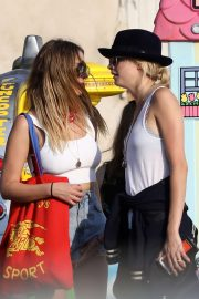 Ashley Benson and Cara Delevingne - Out and about in Los Angeles