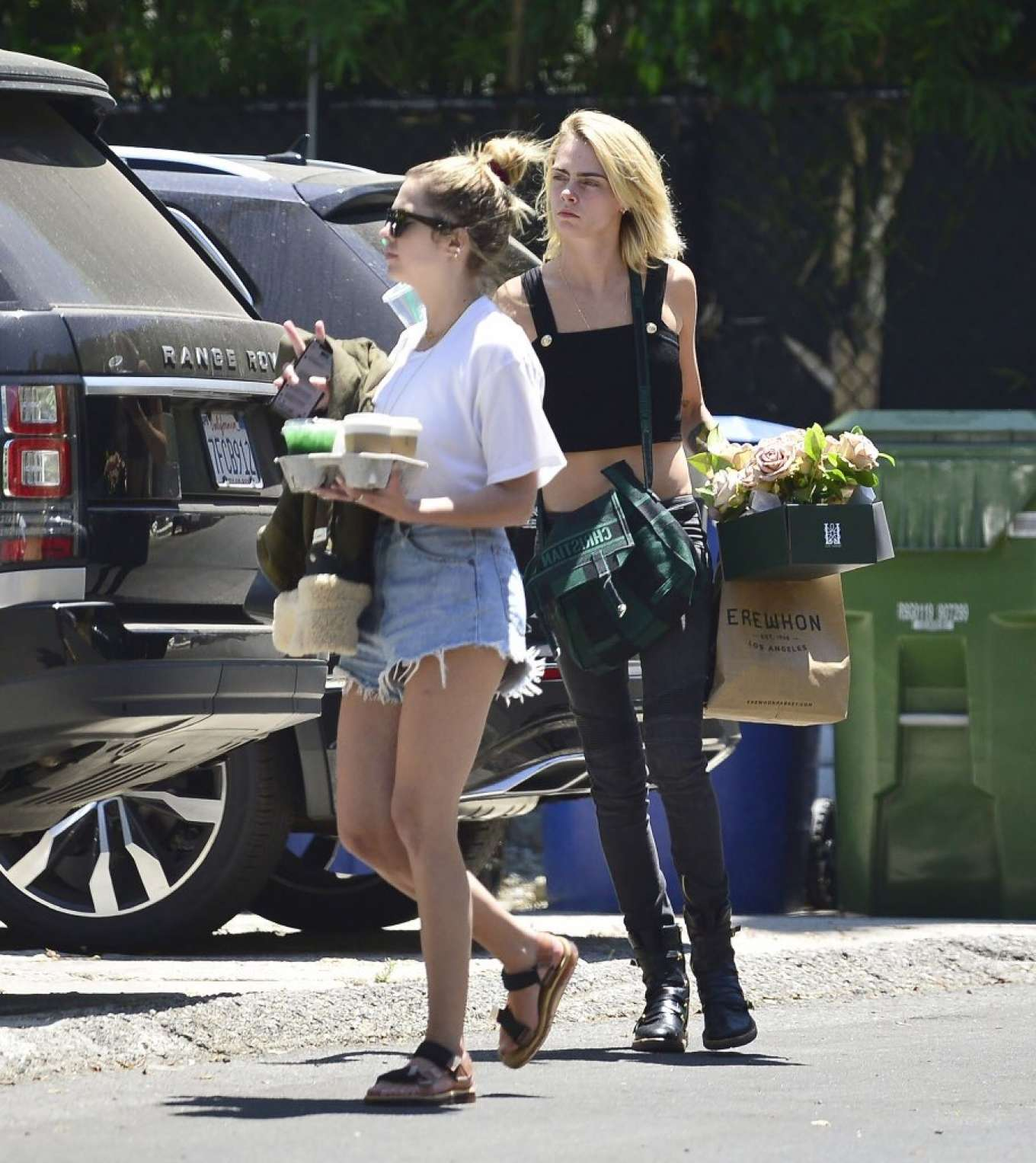 Ashley Benson and Cara Delevingne - Out in Los Angeles