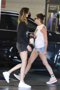 Ashley Benson and Cara Delevingne - Shopping in Los Angeles