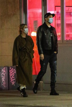 Ashley Benson and G-Eazy - Step out for a stroll in New York