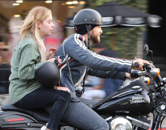 Ashley Benson and Keegan Allen out in LA