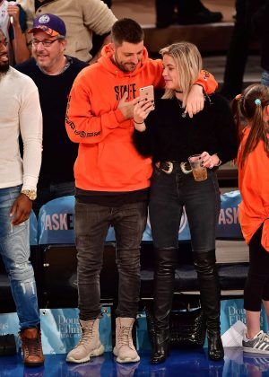 Ashley Benson and Ryan Good at Madison Square Garden in NYC