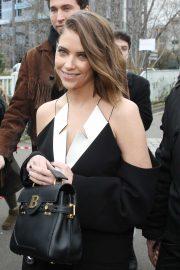 Ashley Benson - Arrives at the Balmain show in Paris