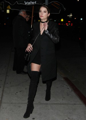 Ashley Benson Arrives at The Nice Guy in West Hollywood