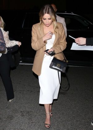 Ashley Benson - Arrives for the Vanity Fair Party in LA