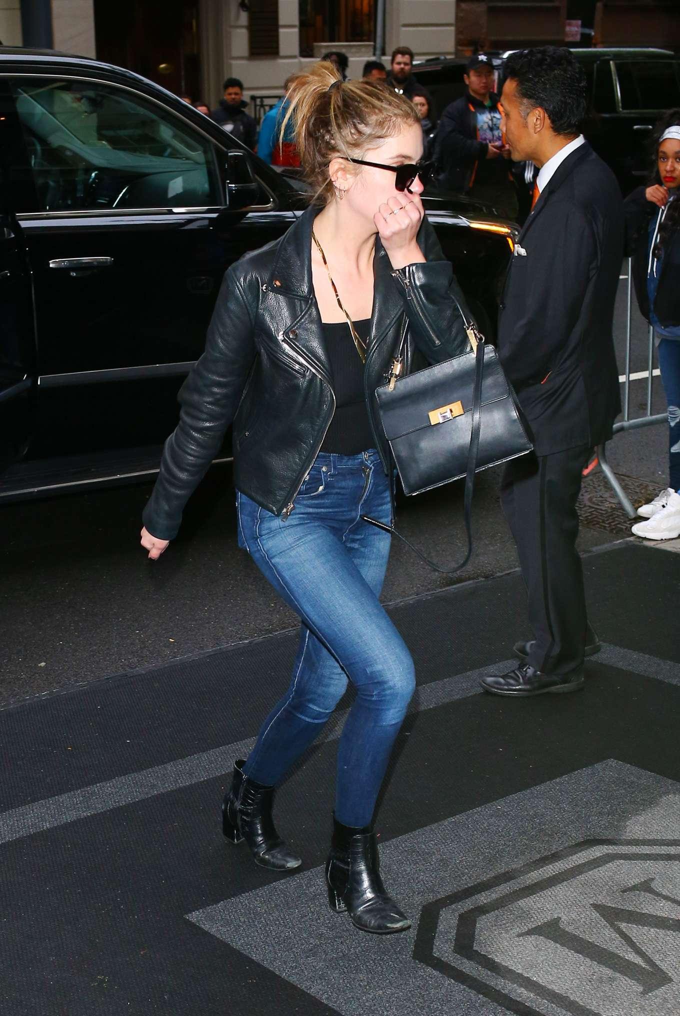 Ashley Benson 2019 : Ashley Benson: Arriving at The Mark Hotel -03