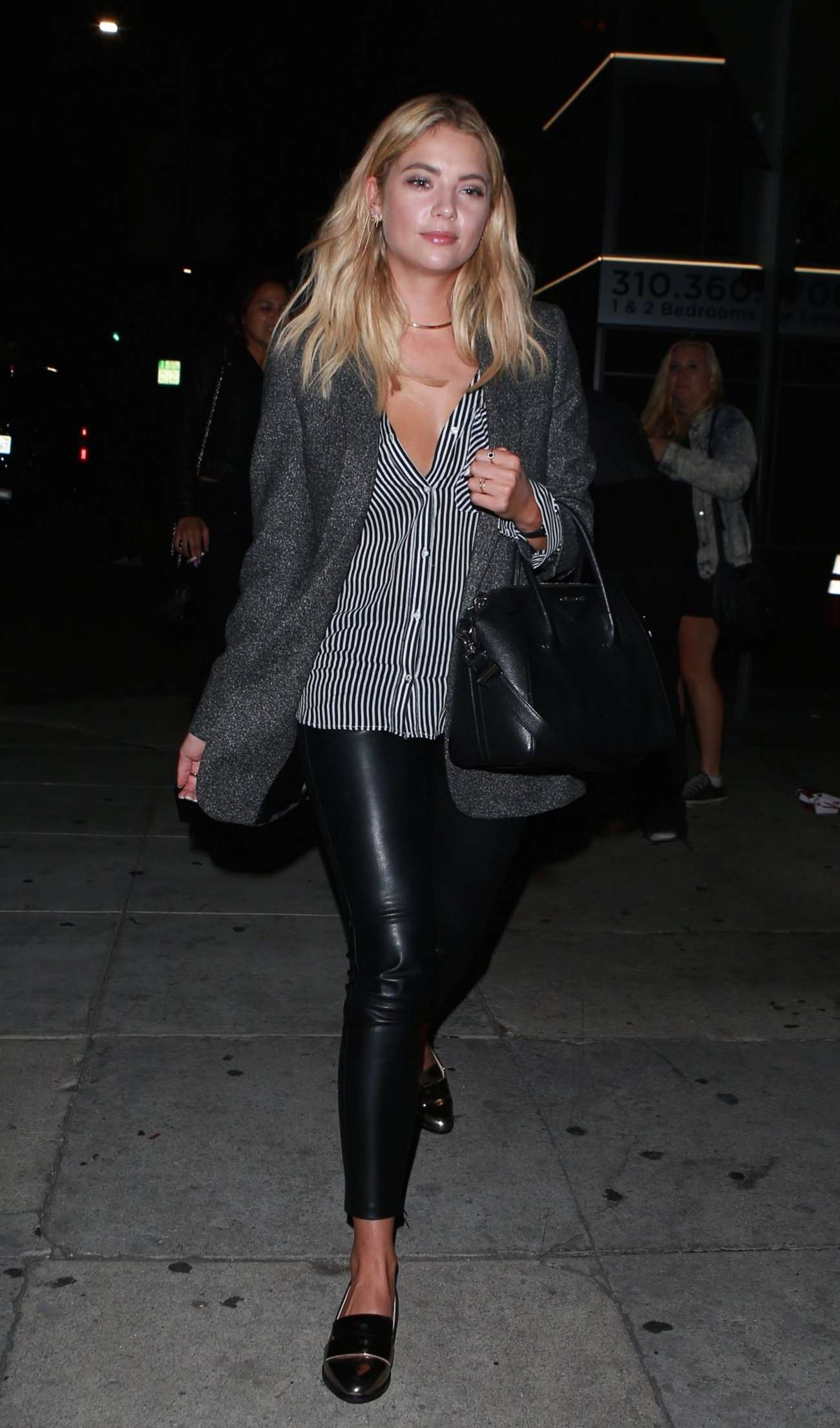 Ashley Benson - Arriving at The Nice Guy in West Hollywood